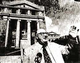 County purchasing agent Herbert Esse calls for bids in August of 1977