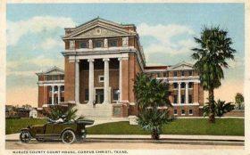 Nueces County Courthouse postcard circa 1920s