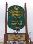 Ground Round sign