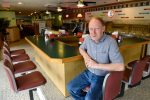 Jon LaRock manages the Lake George Howard Johnson's location, the chain's last restaurant.