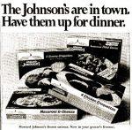Howard Johnson's frozen food ad 1968