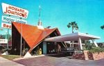 Vintage Howard Johnson's Motor Lodge and Restaurant postcard, circa 1960s