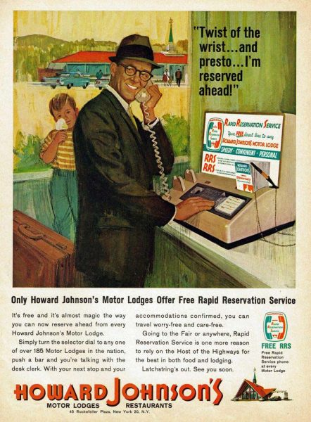 Howard Johnson's Rapid Reservation Service