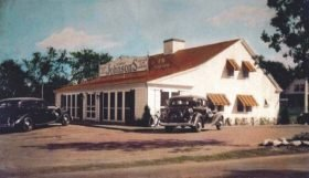 Opened in 1932, the Orleans Howard Johnson's was the company's first franchised restaurant.
