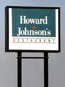FAI-era Howard Johnson's sign