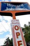 The Last Howard Johnson's restaurant standing, in Lake George, NY