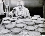 Howard D. Johnson personally ensured quality by testing every item before it went on the menu.
