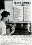 A 1948 news article shows Howard Johnson's 28 flavors at the time.