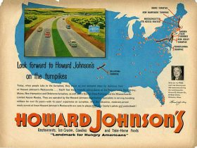 One of Howard Johnson's major expansion coups was his exclusive hold over multiple state turnpike contracts.