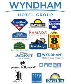 Wyndham Hotel Group chains