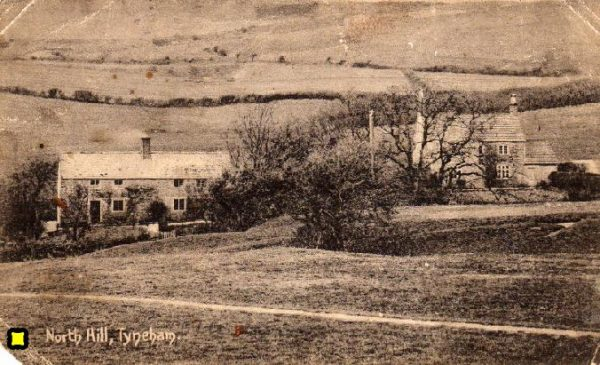 Tyneham Double Cottages and Gardner's Cottage, pre-WWII