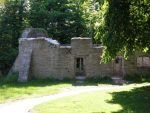 Remains of Tyneham Rectory Cottages today